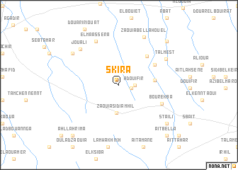 map of Skira