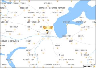 Skive Denmark map nonanet