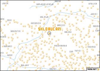 map of Sklobučari