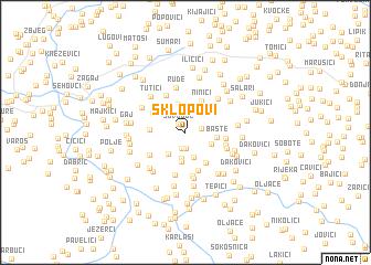 map of Sklopovi