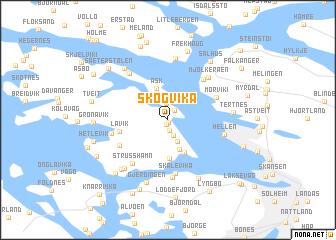 map of Skogvika