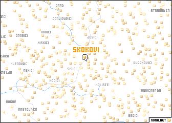 map of Skokovi