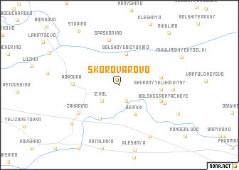 map of Skorovarovo