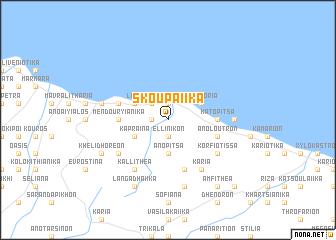 map of Skoupaíika