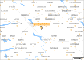 map of Skowronki