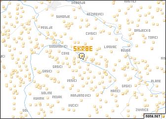 map of Škrbe