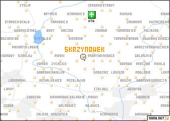 map of Skrzynówek