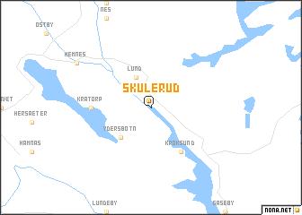 map of Skulerud