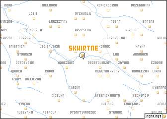 map of Skwirtne