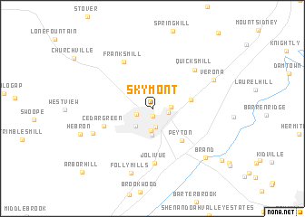 map of Skymont
