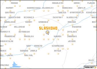 map of Śląskowo
