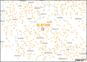 map of Slatina