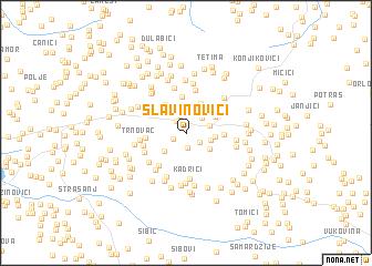 map of Slavinovići