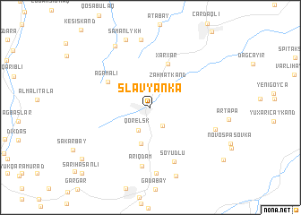 map of Slavyanka