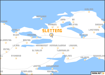 map of Sletteng