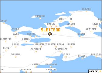map of Sletteng