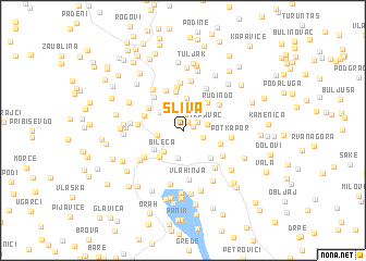 map of Sliva
