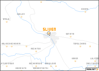 Sliven Bulgaria map nonanet