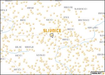 map of Slivnice