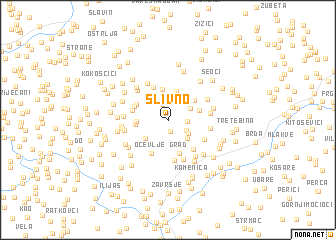 map of Slivno
