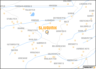 map of Slivovnik