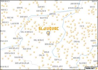 map of Šljivovac