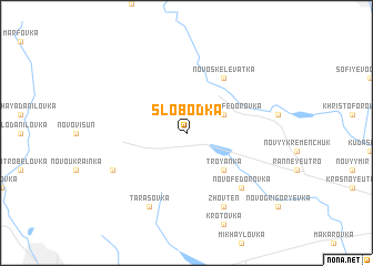 map of Slobodka