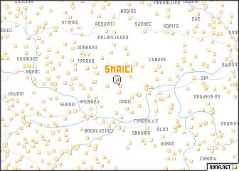 map of Smaići