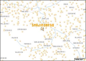 map of Smajino Brdo