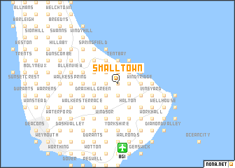 map of Small Town