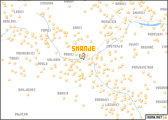 map of Smanje