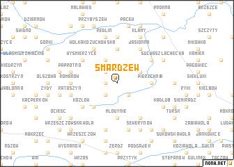 map of Smardzew