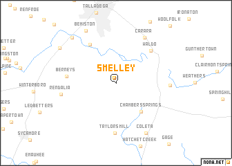 map of Smelley