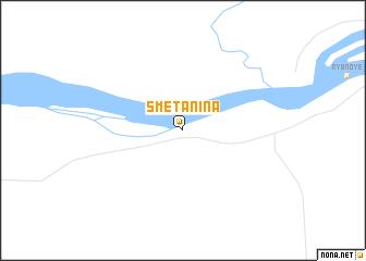 map of Smetanina