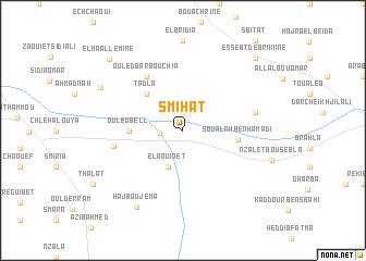 map of Smihat