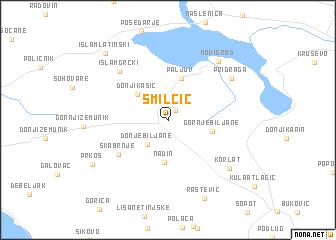 map of Smilčić