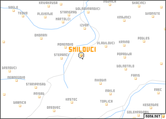 map of Smilovci