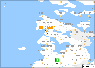 map of Smiodden