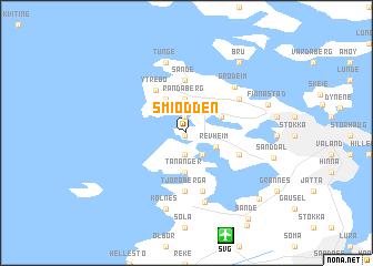 map of Smiodden