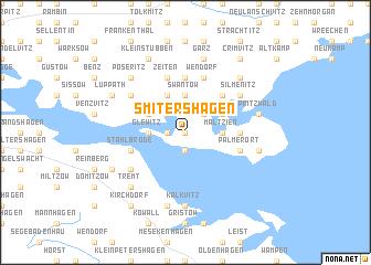 map of Smitershagen