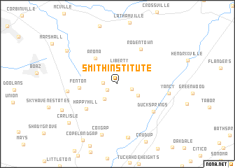 map of Smith Institute