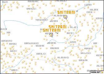 map of Šmitrani