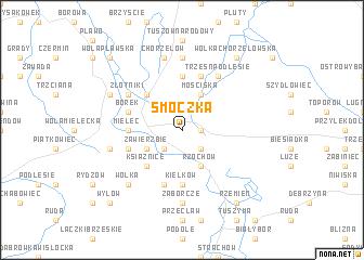map of Smoczka