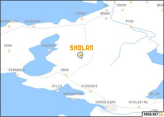 map of Smolan