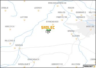 map of Smolec