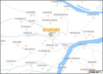 map of Smŭrdan