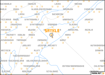 map of Smykle
