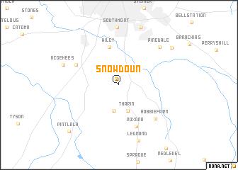 map of Snowdoun