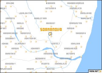 map of Soamanova