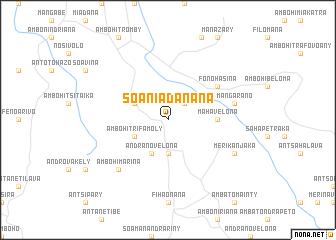 map of Soaniadanana